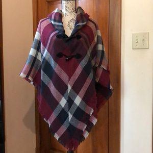 Francesca's sweater poncho